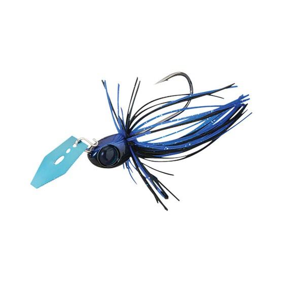 Jackall Derabreak Blade Jig Lure 1/4oz Black Blue, Black Blue, bcf_hi-res