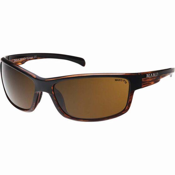 MAKO Shadow Polarised Sunglasses Brown, Brown, bcf_hi-res