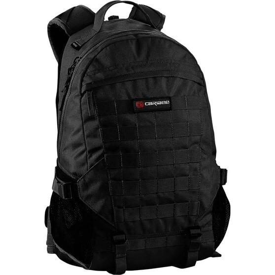 Caribee Ranger Daypack 25L Black, Black, bcf_hi-res
