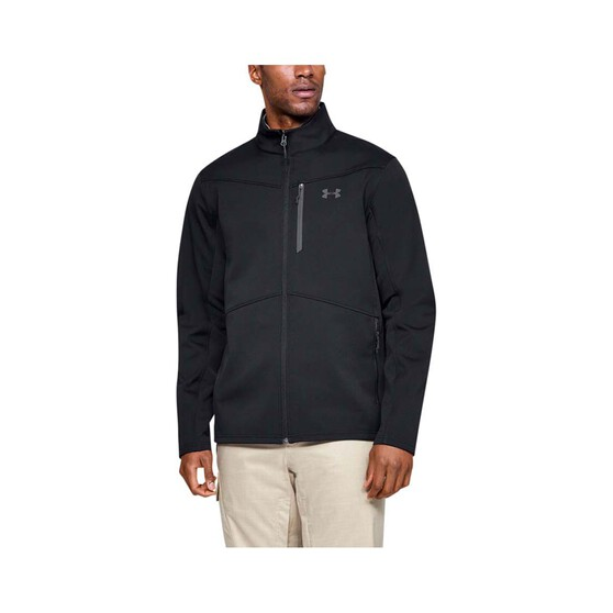 Under Armour Mens ColdGear Infrared Shield Jacket Black M, Black, bcf_hi-res