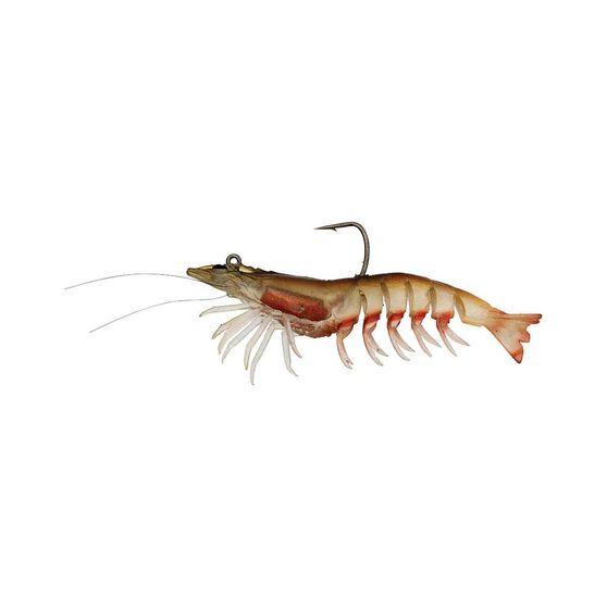 Zerek Absolute Shrimp Soft Plastic Lure 3.5in Red Bolt, Red Bolt, bcf_hi-res