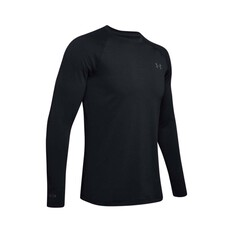Under Armour Men's ColdGear Base 2.0 Thermal Crew Top Black / Pitch Grey S, Black / Pitch Grey, bcf_hi-res