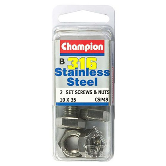 Champion Screws and Nuts - 4mm X 20mm, , bcf_hi-res