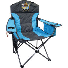 NRL Gold Coast Titans Camp Chair, , bcf_hi-res