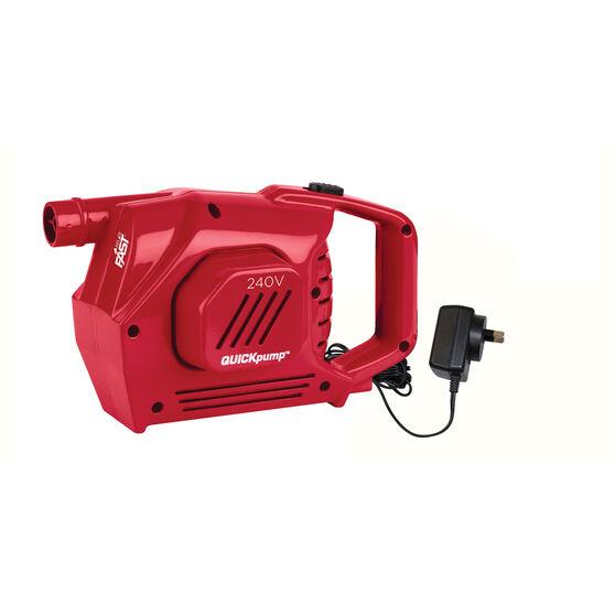 Coleman Quickpump Air Pump 240V, , bcf_hi-res