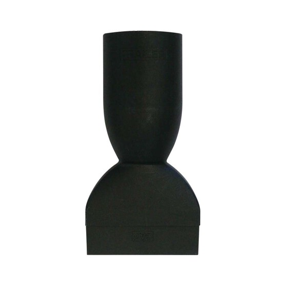 Blueline 7 Pin Trailer Adaptor - Large, Round Socket to Flat Plug, , bcf_hi-res