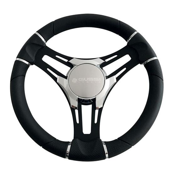 Gussi Verona Steering Wheel 350mm with Black Spokes, , bcf_hi-res