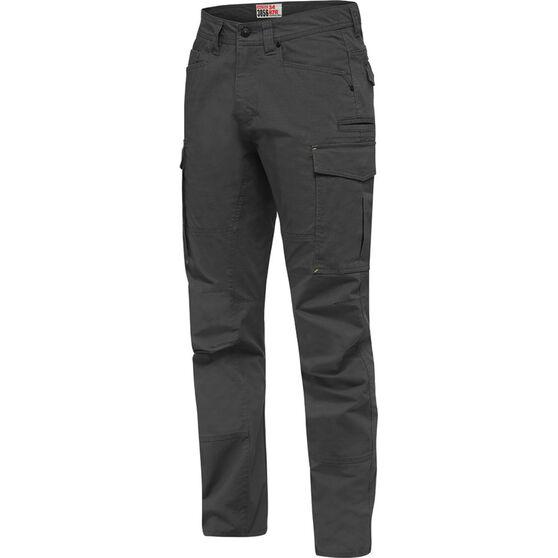 Hard Yakka Men's 3056 Pants Charcoal 92R, Charcoal, bcf_hi-res