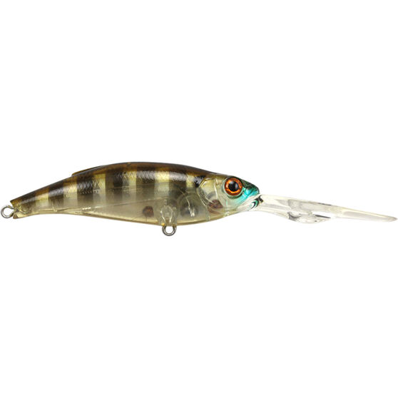 Atomic Hardz Shiner Double Deep Hard Body Lure 85mm Ghost Gill Brown 85mm, Ghost Gill Brown, bcf_hi-res