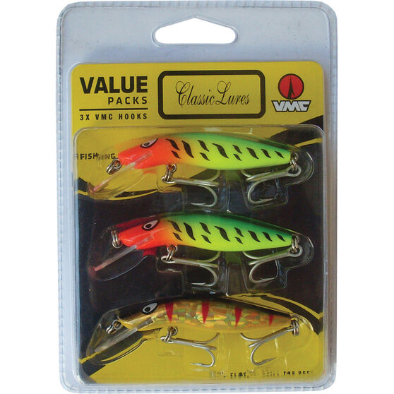 Classic 65 Hard Body Lure 65mm 3 Pack, , bcf_hi-res