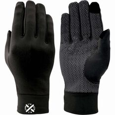 XTM Unisex Arctic Liner Gloves Black S, Black, bcf_hi-res