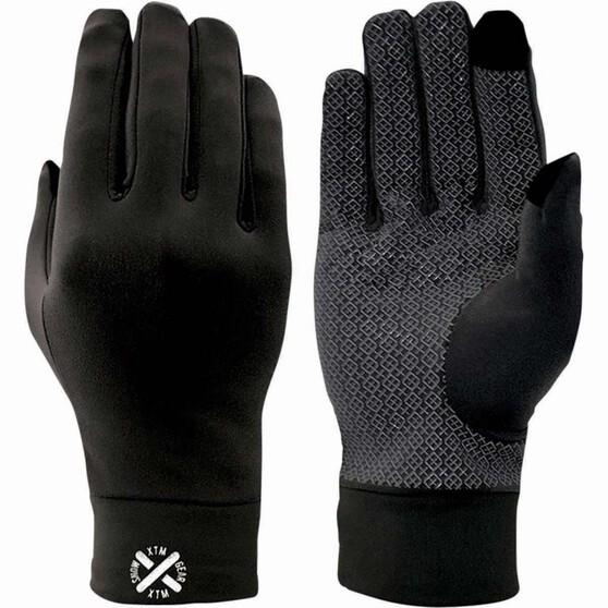 XTM Unisex Arctic Liner Gloves Black M, Black, bcf_hi-res