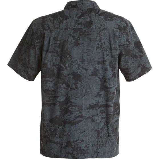 Quiksilver Men's Japanese Oceans Shirt Black XL, Black, bcf_hi-res