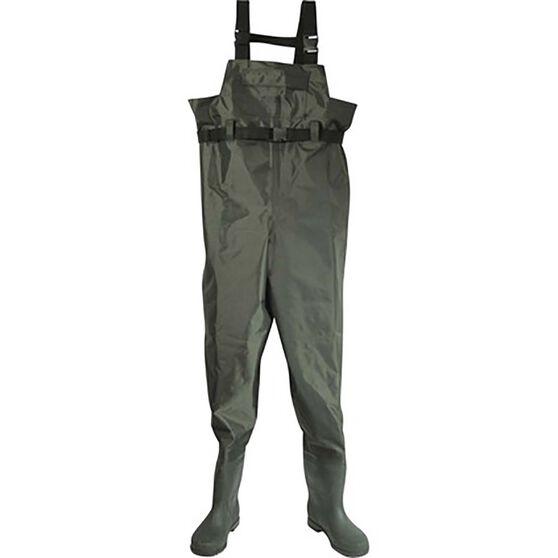 Rogue Nylon PVC Waders Size 13, , bcf_hi-res