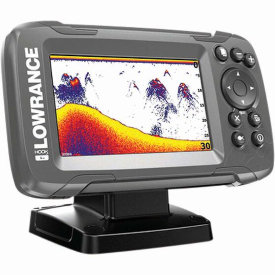 Lowrance Hook²-4x Fish Finder + Bullet Transducer, , bcf_hi-res