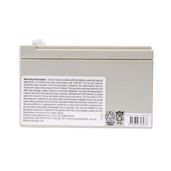Century PS Series Battery PS1270S, , bcf_hi-res