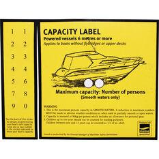 BLA Capacity Over 6m Boat Sticker, , bcf_hi-res