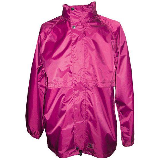 Rainbird Women's Stowaway Rainwear Jacket Raspberry XS, Raspberry, bcf_hi-res
