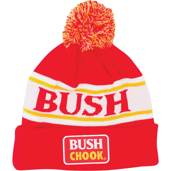 Bush Chook Men's Pinstripe Beanie, , bcf_hi-res