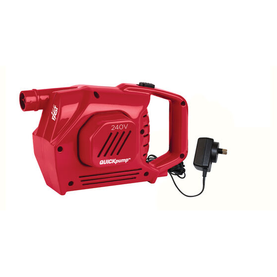 Coleman Quickpump Air Pump 240V, , bcf_hi-res
