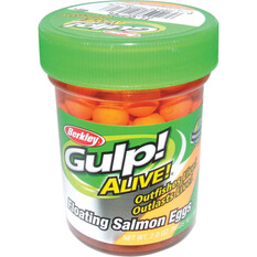 Berkley Gulp Salmon Eggs Fluro Orange, Fluro Orange, bcf_hi-res
