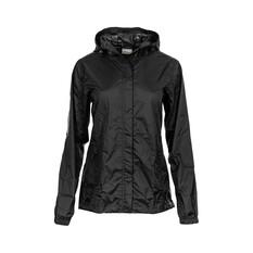 OUTRAK Women's Packaway Rain Jacket, Black, bcf_hi-res