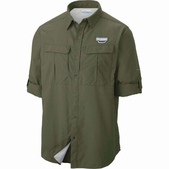 Columbia Men's Cascade Explorer Long Sleeve Shirt Mosstone XL, Mosstone, bcf_hi-res