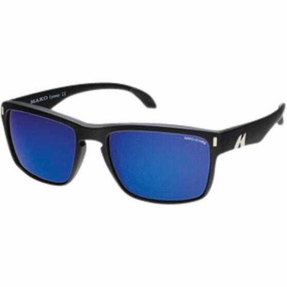 MAKO GT Polarised Sunglasses Blue Lens, Blue Lens, bcf_hi-res