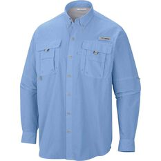 Columbia Men's Long Sleeve Bahama II Fishing Shirt Sail S, Sail, bcf_hi-res