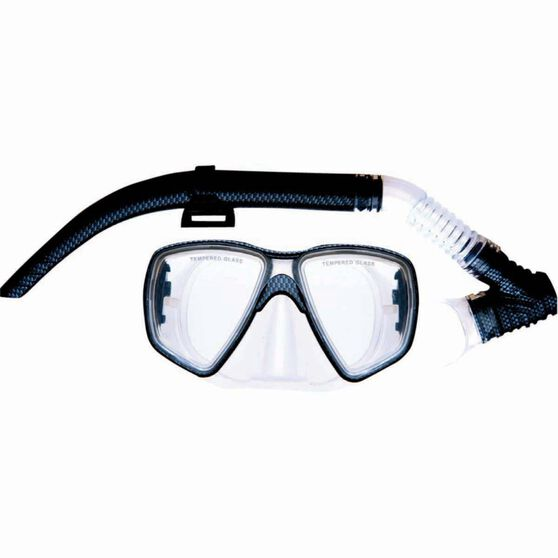 Mirage Carbon Mask and Snorkel Set, , bcf_hi-res