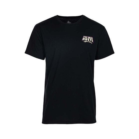The Mad Hueys Men's Day Off UV Short Sleeve Tee, Black, bcf_hi-res