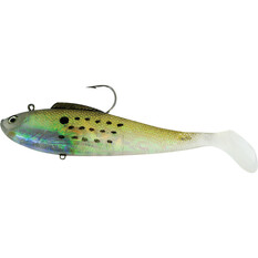 Reidy's Rubbers Soft Plastic Lure 4in Gold, Gold, bcf_hi-res