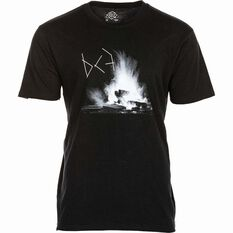 BCF THREADS Men's Inferno Tee Black S Men's, Black, bcf_hi-res