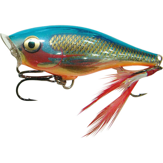 Rapala Skitter Pop Surface Lure 7cm Silver Blue, Silver Blue, bcf_hi-res