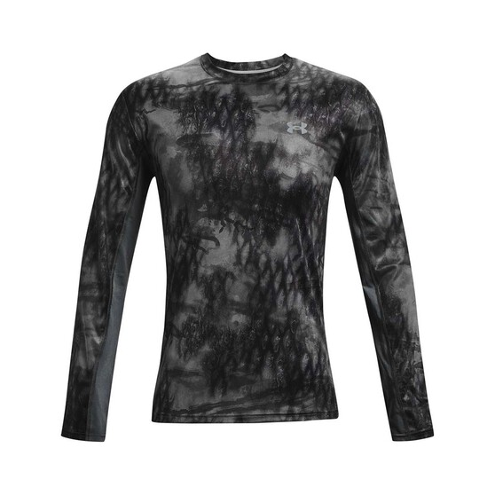 Under Armour Men's Isochill Shorebreak Camo Sublimated Shirt, Pitch Gray / Mod Grey, bcf_hi-res