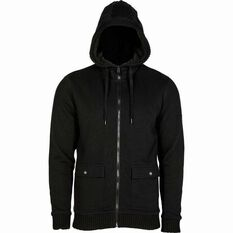 Men's Sherpa Cargo Jacket Black S, Black, bcf_hi-res