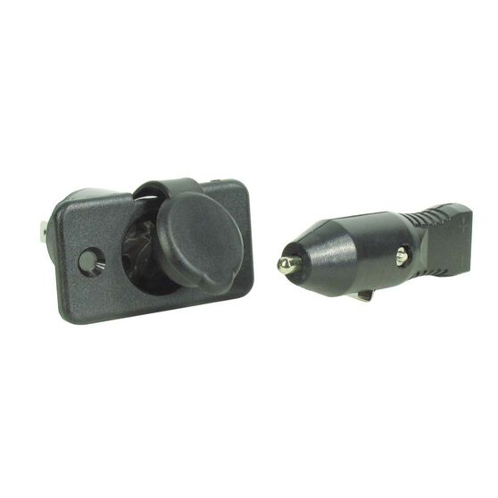 Complete Plastic Power Socket 10A, , bcf_hi-res