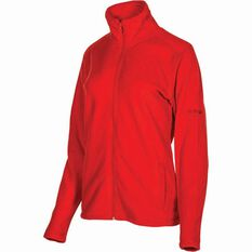 OUTRAK Women's Basic Fleece Jacket Coral 8, Coral, bcf_hi-res