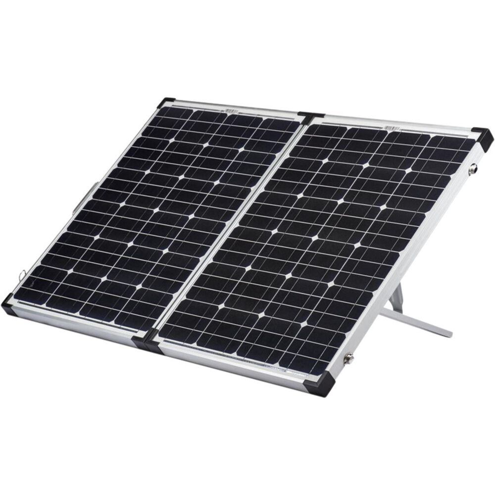 Waeco Solar Panel Kit 120w Bcf Leg Wiring Harness Include Switch Support Led Light Hi Res