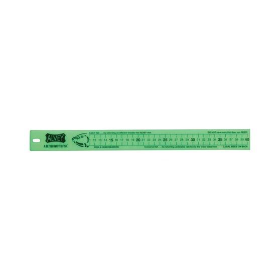Alvey Glow Fish Ruler 40cm, , bcf_hi-res