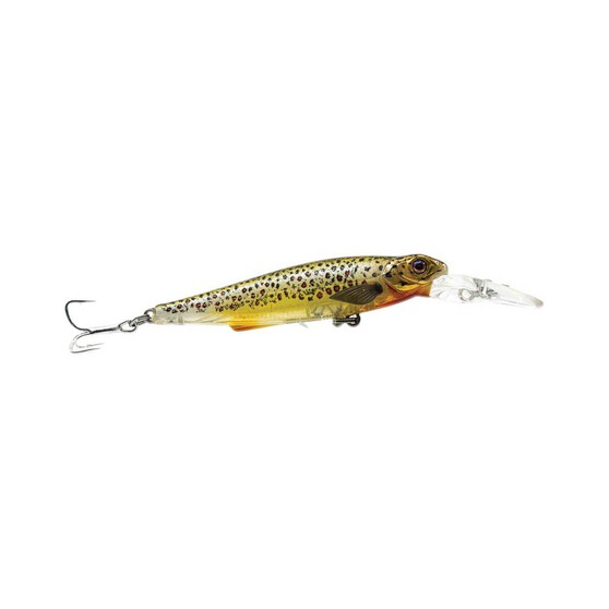 Chasebaits Gutsy Minnow Shallow Lure 80mm Brown Trout, Brown Trout, bcf_hi-res