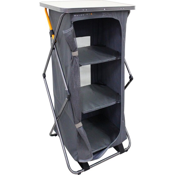 Wanderer Premium Instant 3 Shelf Cupboard, , bcf_hi-res
