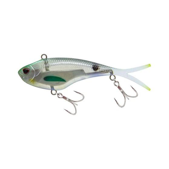 Nomad Vertrex Swim Soft Vibe Lure 95mm Holo Ghost Shad, Holo Ghost Shad, bcf_hi-res