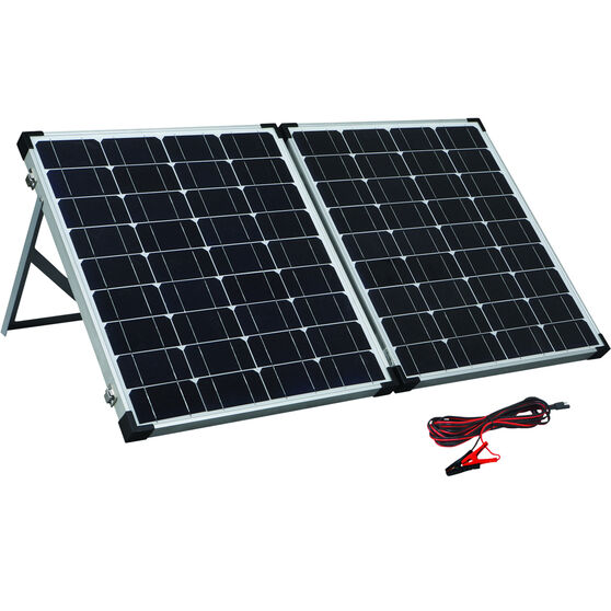 Solution X 100W Folding Solar Panel Kit, , bcf_hi-res
