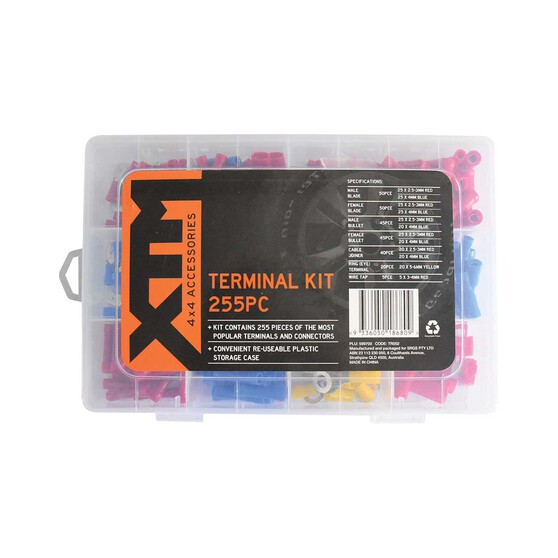 XTM 255 Piece Terminal Kit, , bcf_hi-res