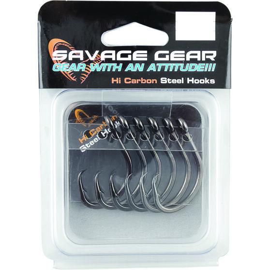 Savage Black Nickel Circle Hooks, , bcf_hi-res