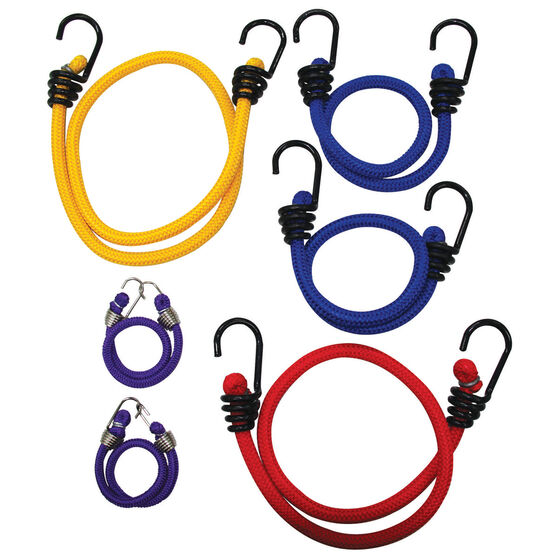 Bungee Cord, Metal Hook - 6 Pack, , bcf_hi-res