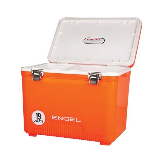 Engel 18L Cooler Drybox Orange, Orange, bcf_hi-res