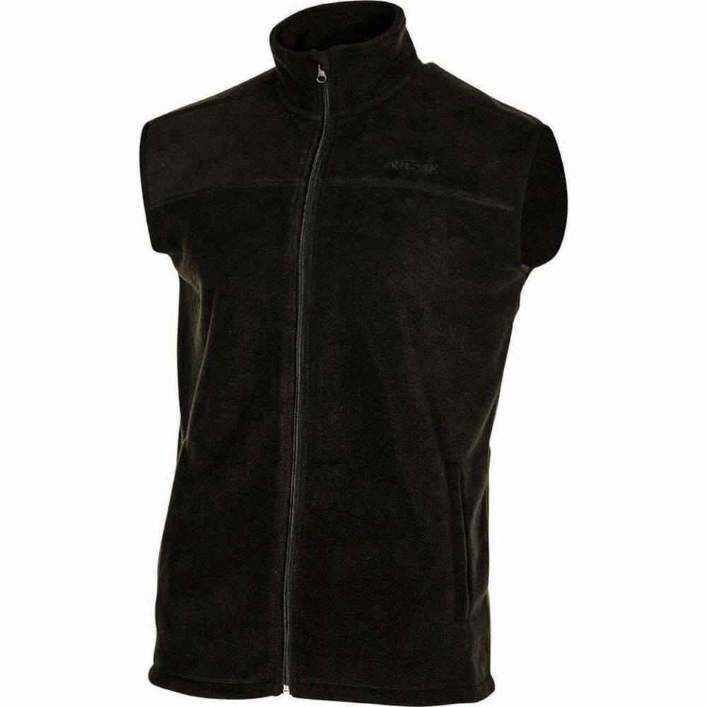cec45bf4d64 OUTRAK Men's Basic Fleece Vest Black L, Black, bcf_hi-res