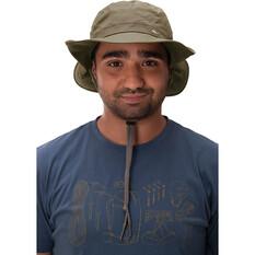 macpac Men's Bushman V3 Hat, Olive, bcf_hi-res